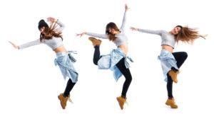 47320853 - girl dancing street dance
